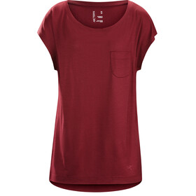 Arc'teryx A2B - T-shirt manches courtes Femme - rouge
